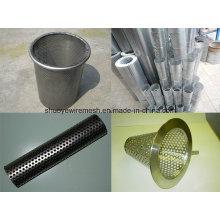 Перфорированная металлическая сетка для декоративной сетки сетчатого фильтра
