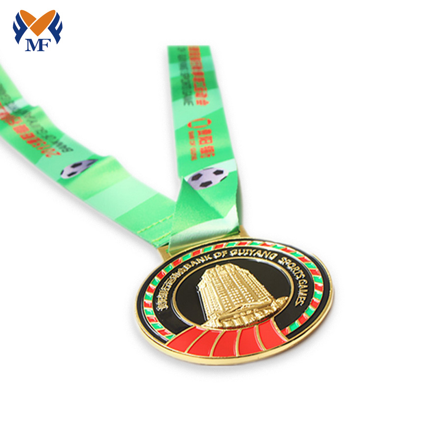 Custom Logo Gold Medals