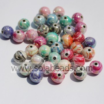 Spring 10mm Pearl Ball Smooth Tiny beads
