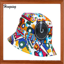 Chapéu feito sob encomenda da cubeta da alta qualidade da forma
