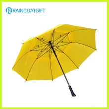 Werbung 30inch * 8k Auto-Eröffnung gerade Outdoor Golf Regenschirm