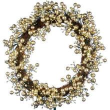 24 pulg. Golden Starlite Creaciones Corona con Batteris operando 48 LED (MY255.258.00)