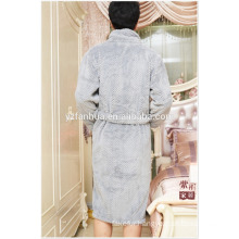 100% Polyester Fabric Good Water Absorbent Mens Hotel Bathrobes