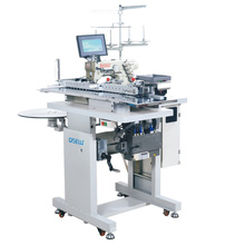 QS-2302JD Automatic pocket hemming industrial sewing Machine Rolled pocket Hemming chainstitch Machine