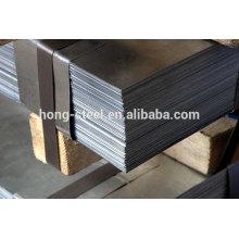 Acabado del molino ASTM 2205 grado duplex acero inoxidable precio de la hoja