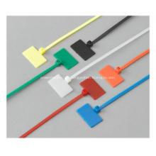 Marcação de cabos Gravata / Identificador de abraçadeiras de nylon de marcador
