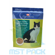 Cat Food Packaging Bag Dengan Custom Zip
