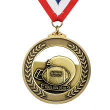 Wholesale Custom Metal Award Medal Football