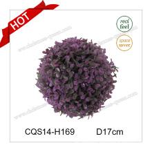 7′′ Christmas Factory Sale Plastic Christmas Ball Grass Craft