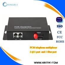 Made in china fonte de alimentação externa pcm telefone multiplexador fxs fxs sobre fibra
