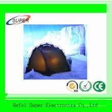 Tente de camping en polyester en gros avec une porte pour 3 personnes