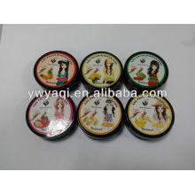 Carnets de Remover de vernis à ongles 30pcs boîte noire fruits parfum sans vernis à ongles acétone lingettes