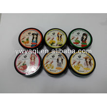 30pcs Black Box Fruit Fragrance Nail Polish Remover Pads without Acetone Nail Polish Wipes