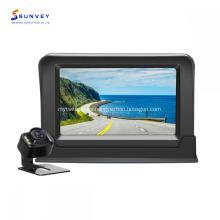 Sistema de kit de cámara y monitor de respaldo