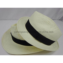Sombrero de paja de los hombres de la promoción, verano se divierte la gorra de béisbol