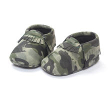 Камуфляж Мода Детская Обувь Мягкой Подошвой Младенческой Малыша Мокасины