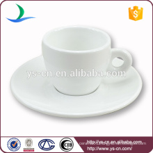 Bestselling White Ceramic Coffee Cup With Saucer