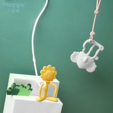 Lote pequeño disponible juguete para bebé de silicona para dentición recién nacido