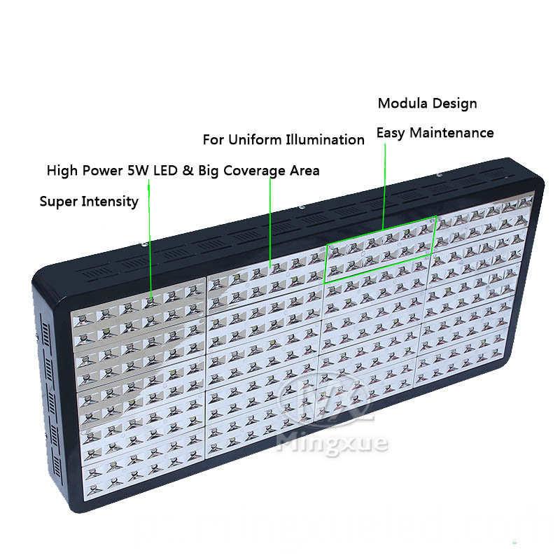 Full Spectrum 1000 Watt LED Grow Light for greenhouse