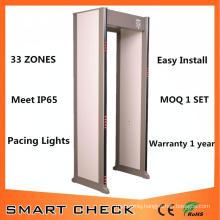 33 Zones Security Metal Detector Gate Walk Through Metal Detector
