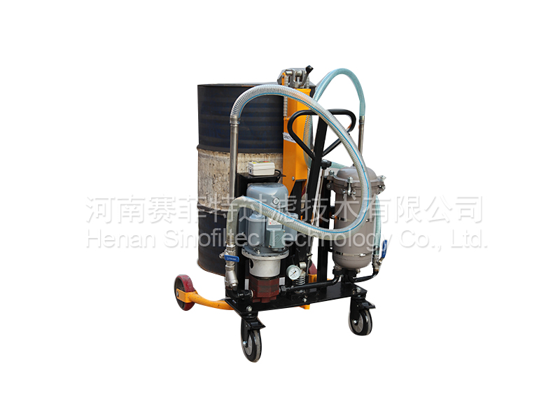 LYC-D Type Movable Oil Filter Pushchart (8)
