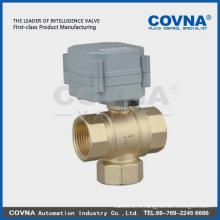 T flow DC12V моторизированный 3-ходовой моторный клапан с NC и функцией обратной связи для фанкойла и системы горячего водоснабжения