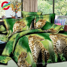modern 3d animal picture home textile bed sheet sets