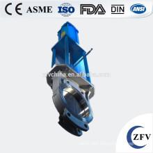 Factory Price Pneumatic Knife Gate Valve, knife gate valve with pneumatic actuator rising stem gate valve