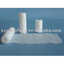 Gestrickte elastische Bandagen / Mullbinden