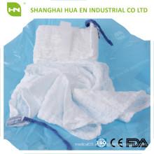 CE FDA ISO Aprobado azul esponja estéril bucle abdominal esponja de vuelta