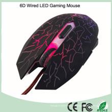 Design ergonômico de tamanho completo Jogo de mouse com fio com 6 botões (M-65-1)