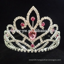 girls hair accessories crystal claw chain crown headband