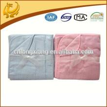 100% fibra de bambu cobertor de bebê de bambu recém-nascido