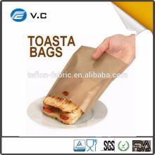 Microondas Teflon torradeira sacos para queijo grelhado Sanduíches Made Easy