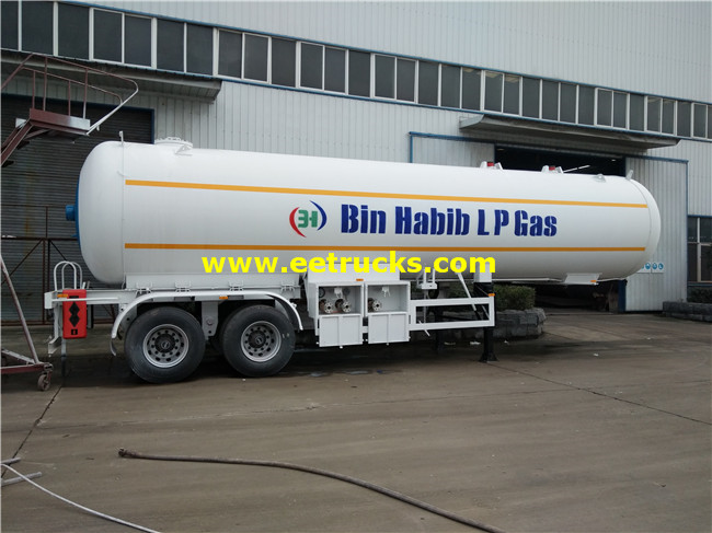 10000 Gallon Propane Gas Transportaion Semi-Trailers