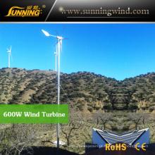 China Acampamento Wind Turbine Generator para Wind Solar Power System (MAX 600W)