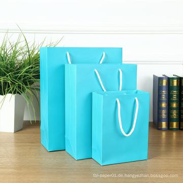 MOQ 500 Hochzeit Luxus Papiertüten, Geschenktüten Papier
