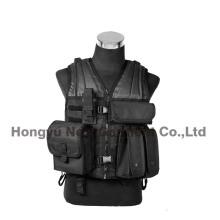 Ejército de combate de Paintball militar Soft Tactical chaleco de seguridad de camping (HY-V059)