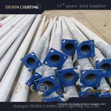 Hochwertige verzinkte LED Straßenbeleuchtung Pole 5m6m7m