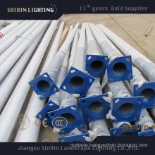 High Quality Galvanized LED Street Lighting Pole 5m6m7m