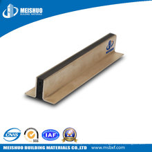 Concrete Expansion Joint Filler with Brass Plate