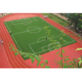 Wearable 5: 1 Plasterungsmaterialien Courts Sports Surface Flooring Athletische Laufbahn