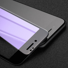 Zwarte Anti Blue Light Protector voor iPhone8 Plus