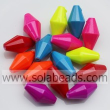 Vintage 8*16MM Full Cut Bicone Colors Loose Beads