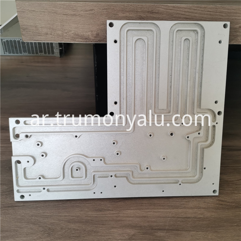 aluminum heat exchanger plate1