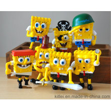 Nueva Spongebob Squarepants Series juguetes de plástico
