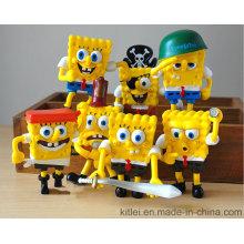Пластиковые игрушки серии Spongebob Squarepants