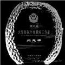 Nouveau trophée de cristal de mode vierge (JD-K135)