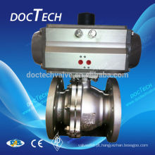 DIN3202 Padrão de válvula de esfera flangeadas