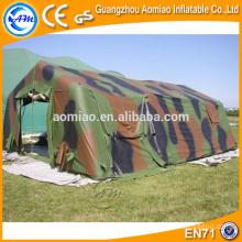 Outdoor grande tenda inflável camping gramado, venda de tenda militar inflável